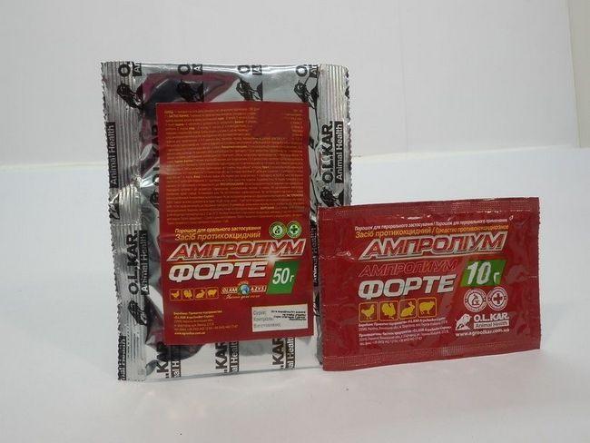 Упаковка з лікарською речовиною