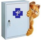 Аптечка для кішки