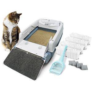 Мега автоматичний ящик Cat Litter Box і Self-Cleaning Litter Box