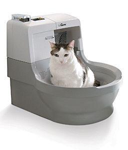 Автоматичний туалет для кішки