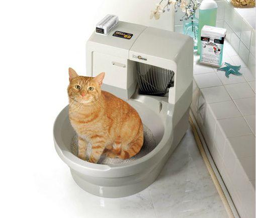 Туалет для кішок автоматичний