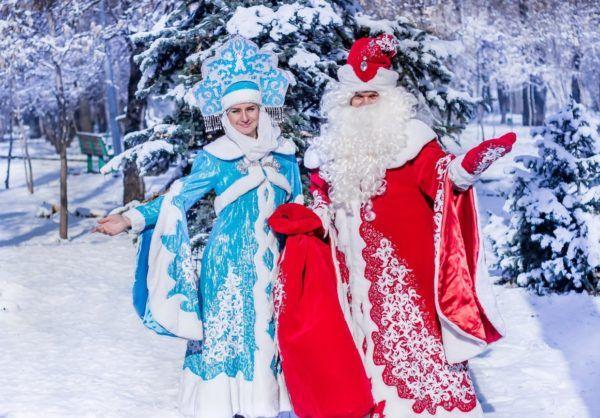 Поздоровлення від Діда Мороза