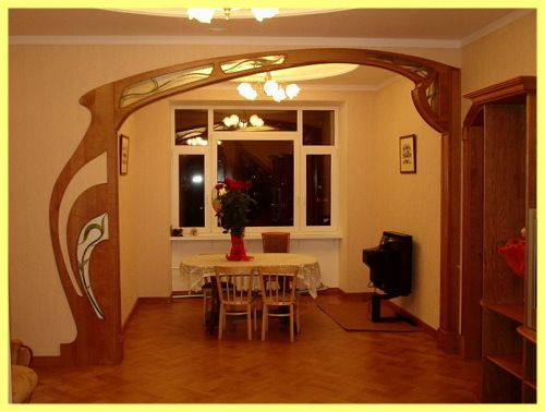Дерев`яні арки для дачі