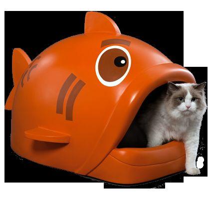 Litterfish designer litter box