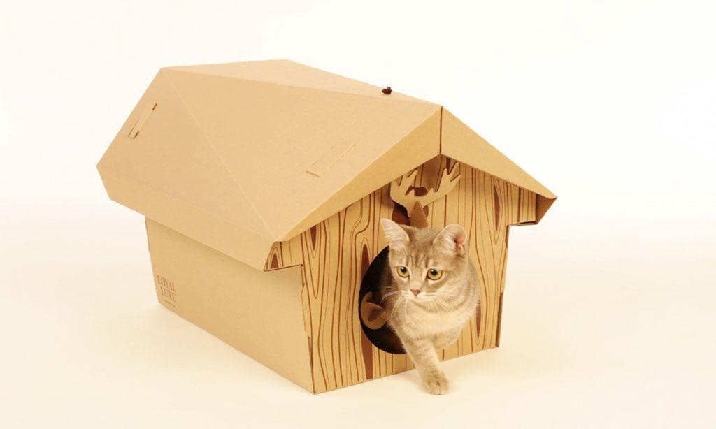 Будиночок для кота