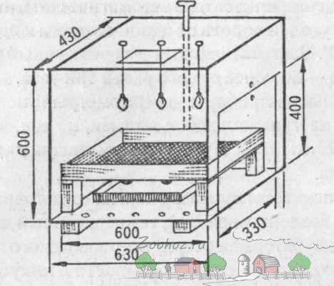 Креслення простого інкубатора А. Варварова фото