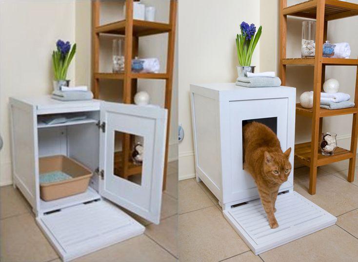 Ідея туалету для кішки