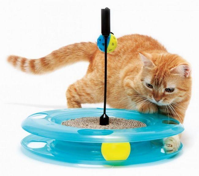 Інтерактивні іграшки для кішок
