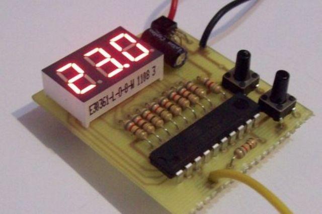 Саморобний терморегулятор з датчиком