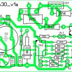 Схема 1 для саморобного регулятора