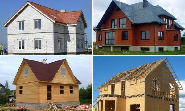 З яких матеріалів найкраще будувати будинок для постійного проживання