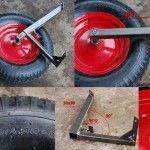 Особливості кронштейна колеса