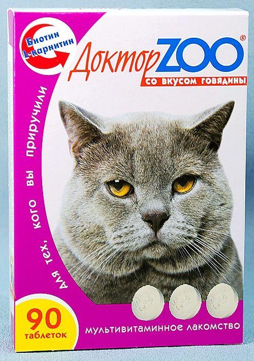 Добавка «Доктор Зоо» для котячого здоров`я
