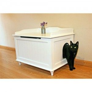 Вишуканий туалет для кішки