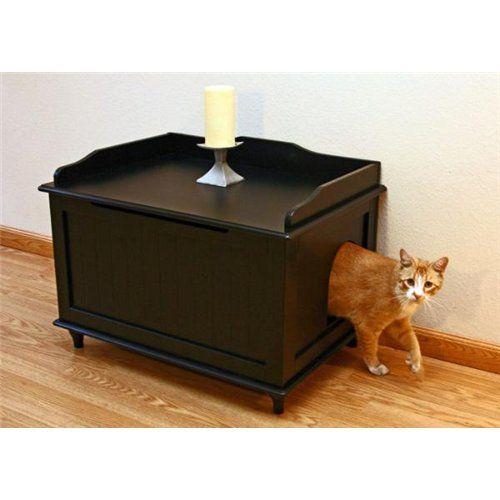 Тумбочка - туалет для кішки