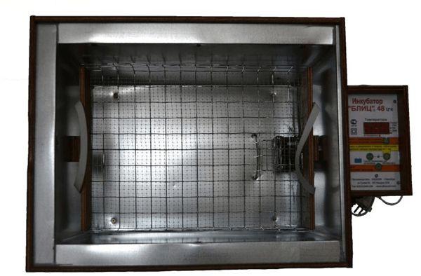 Інкубатор Бліц 48 збірка фото
