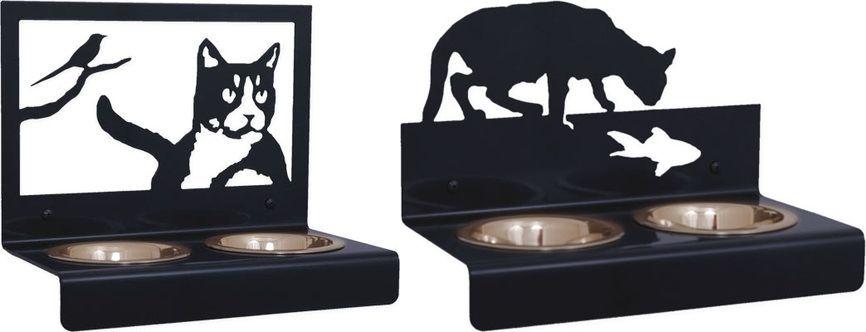 Підставка під миски для кішок