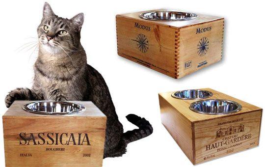 Підставки під миски для кішок