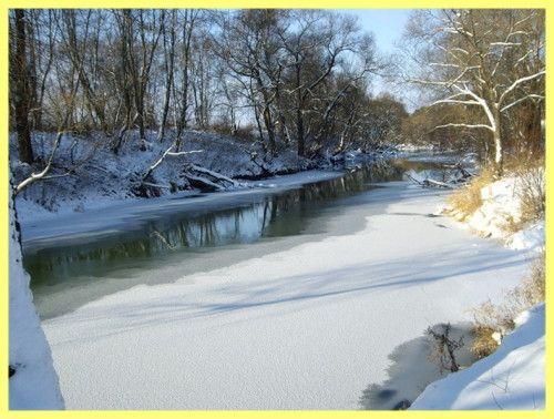 Як знайти рибні місця на річці