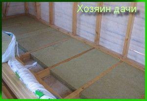 Як зробити підлогу на дачі: інструкція і фото