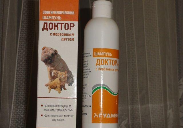 Шампунь Доктор для котів і собак