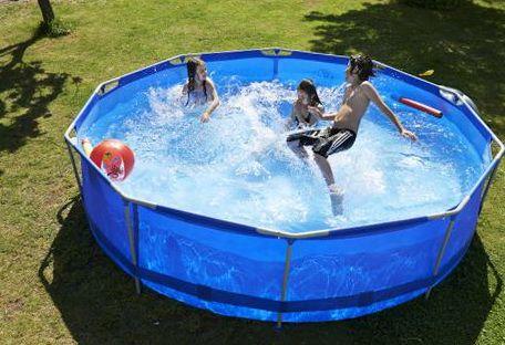 Каркасні басейни ціна розміри фото