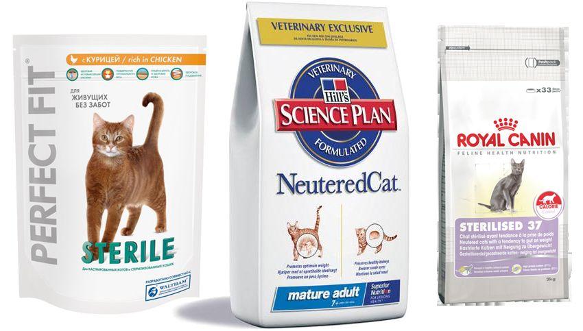 Корм для стерилізованих кішок