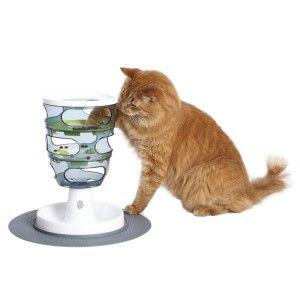 Годівниця - головоломка для кішок