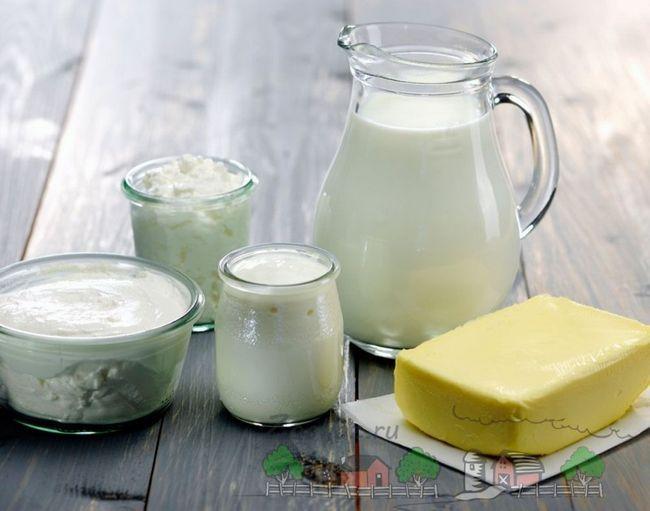 Жирні молочні продукти