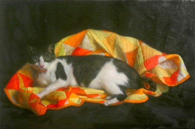 Кіт з неаполя став художником