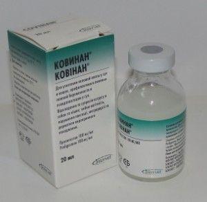 Ковінан - гормональний засіб для пригнічення статевої охоти