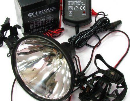 Лампа-фара для полювання