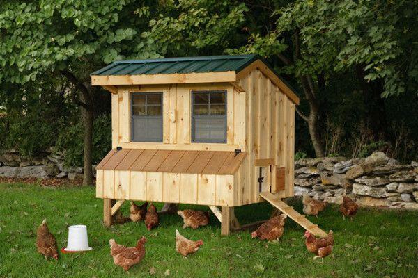 Робимо оригінальний будиночок для курочок