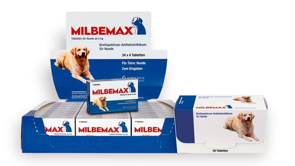 Мільбемакс для собак: огляд препарату
