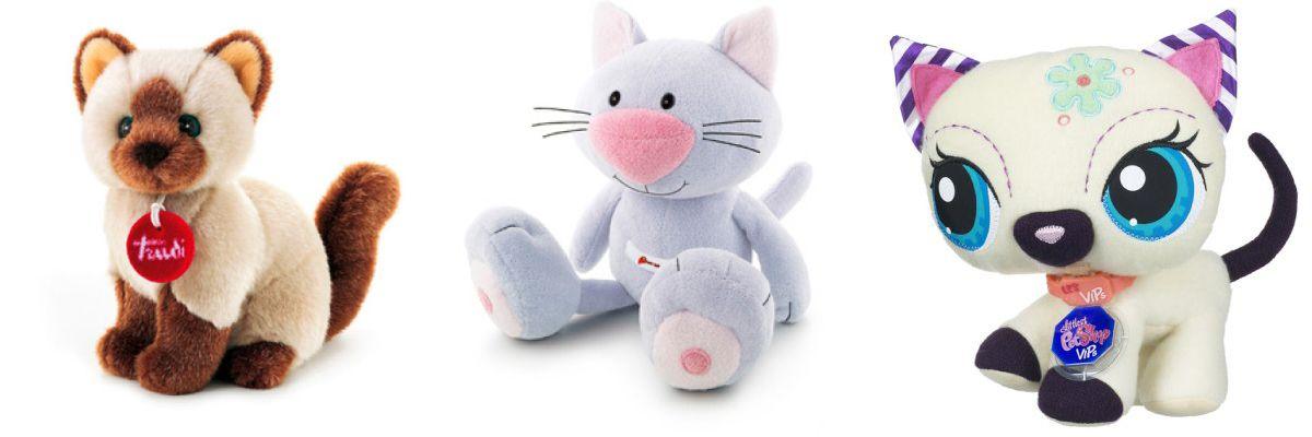 М`які іграшки кішки
