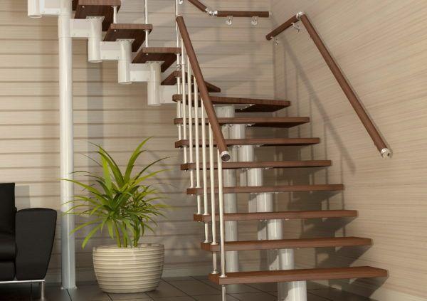 Модульні сходи на другий поверх в приватному будинку: ціни в спб