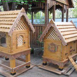Два будиночка для курей