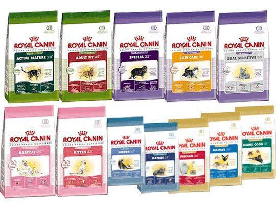 Котячий корм Royal Canin огляд