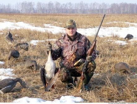 Полювання на гусей з манком