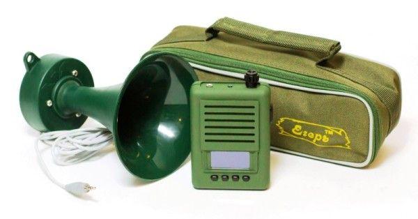 Електричний манок з рупором і чохлом