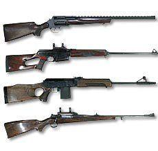 Мисливська зброя гладкоствольна, нарізна