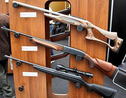 Мисливські нарізні рушниці remington
