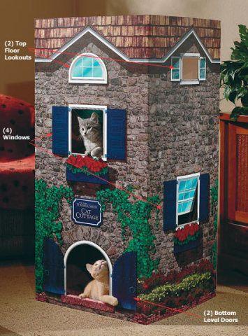 Оригінальна ідея будиночка для кішки