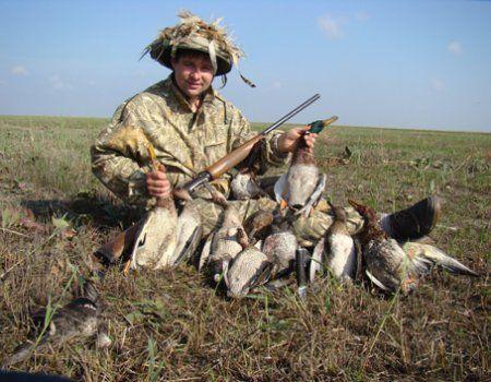 Осіннє полювання на качок