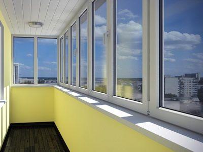 Скління балкона пластиковими вікнами фото ціна