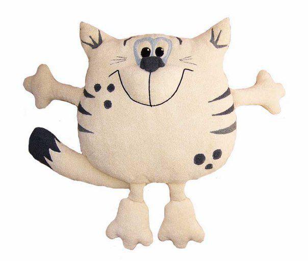 подушка кіт