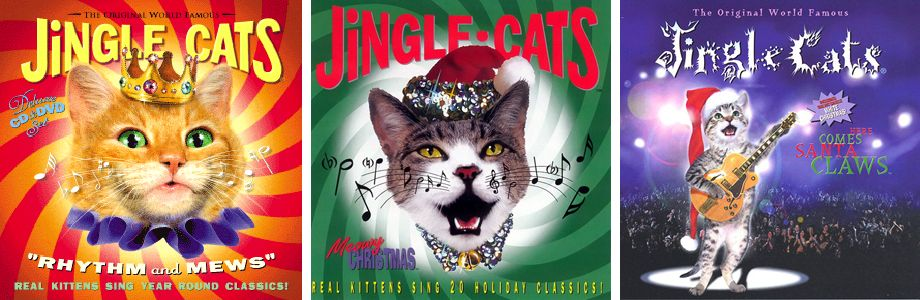 Альбоми групи Jingle Cats