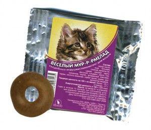 Корисні ласощі для кішок