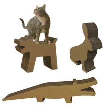 Когтеточка для кішок з картону