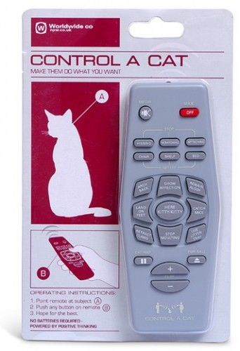 Пульт для управління кішкою